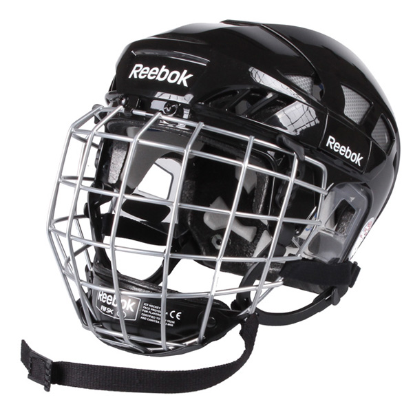 REEBOK 7K Combo hokejová helma s mřížkou - černá