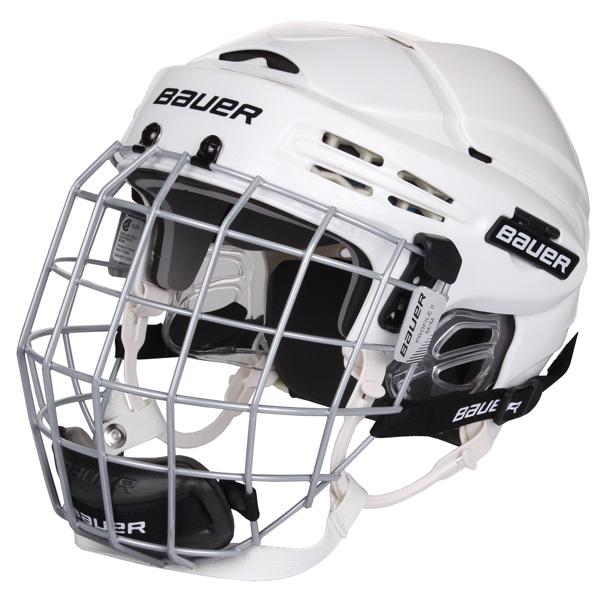 BAUER HH 5100 Combo hokejová helma s mřížkou - bílá