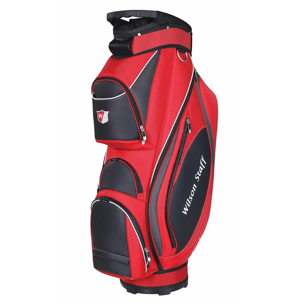 Bag na golf WILSON STAFF PRESTIGE CART BAG RED WGB4810RD