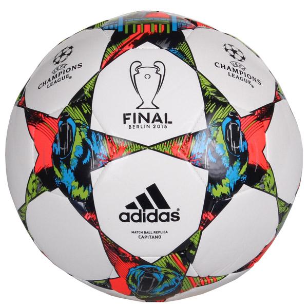 ADIDAS Finale Berlin Capitano fotbalový míč - bílá