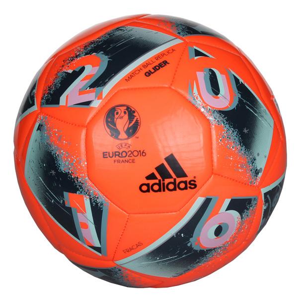 ADIDAS EURO 2016 FRACAS Glider fotbalový míč - oranžová
