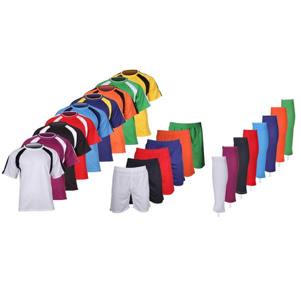 MERCO sada 15 kompletů Chelsea dres, šortky, štulpny