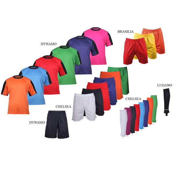 MERCO sada 15 kompletů Dynamo dres, šortky, štulpny