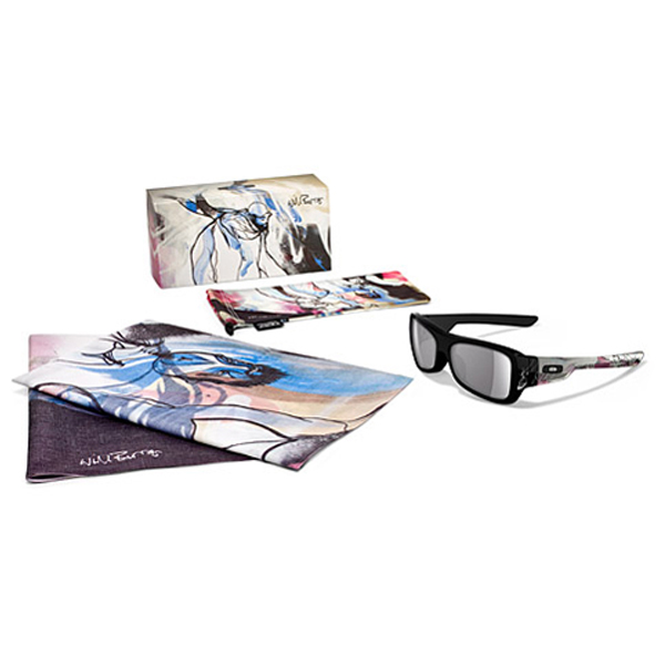 Brýle OAKLEY WILL BARRAS MONTEFRIO PLSHD BLK W/GREY 24-049L1