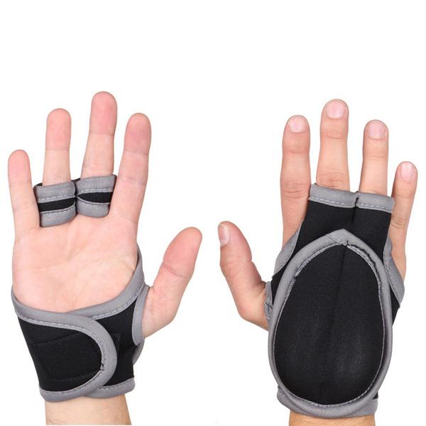 MERCO rukavice na Piloxing 2x 0,25kg - šedá - černá