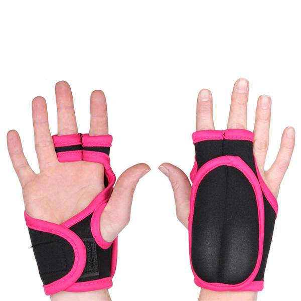 MERCO rukavice na Piloxing 2x 0,25kg - černá - růžová