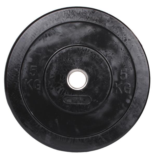 MERCO Bumper olympijské kotouče, guma - 5 kg