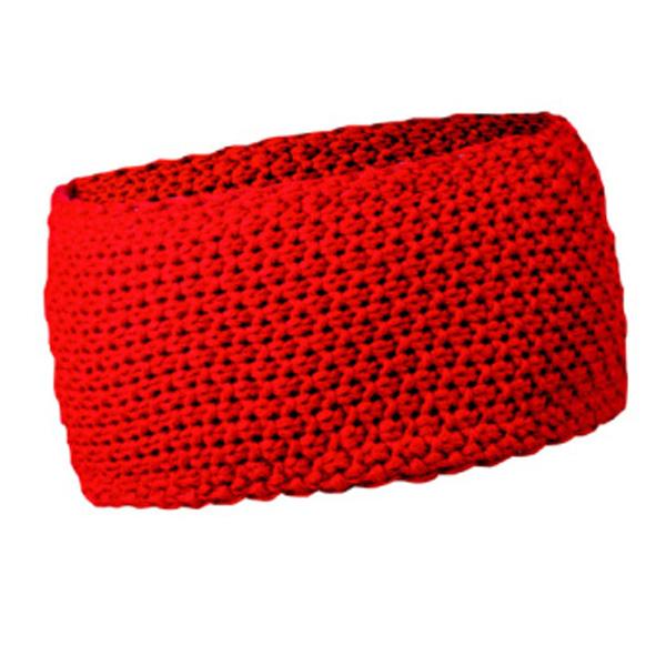 ROLY zimní čelenka HEADBAND, červená