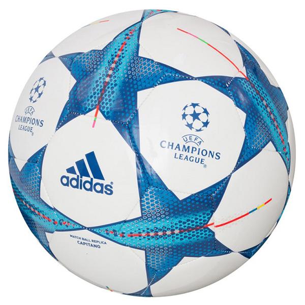ADIDAS Finale 15 Capitano fotbalový míč - bílá