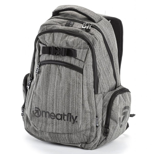 Batoh MEATFLY TEXTURE BACKPACK A HEATHER GRAY