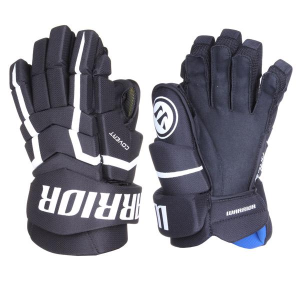WARRIOR Covert QRL5 SR hokejové rukavice - 13 - černá - bílá