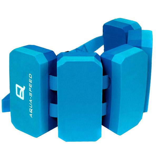 AQUA SPEED Plavecký pás 5-ti dílný - modrá