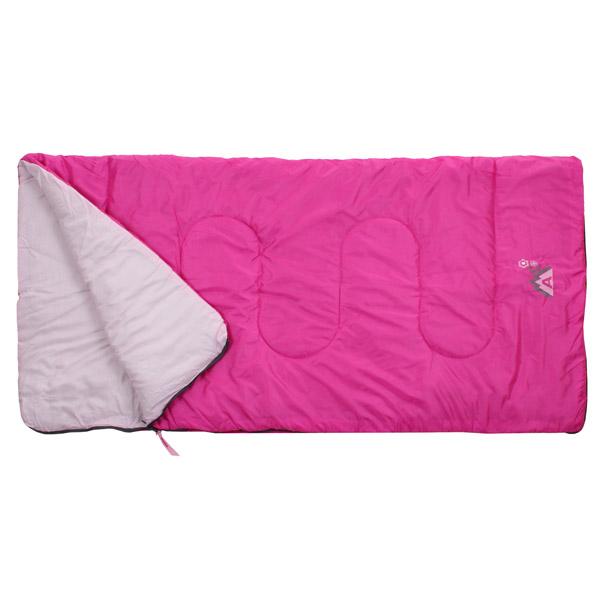 ABBEY CAMP Junior spací pytel deka - růžová