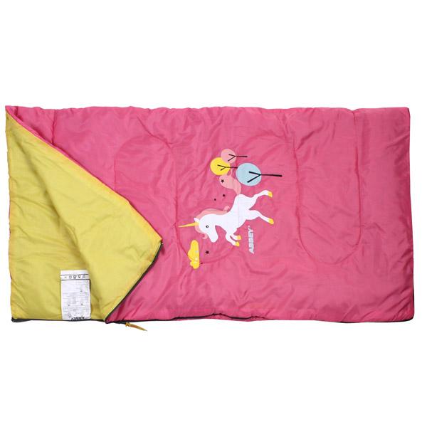 ABBEY CAMP Junior Fairytale spací pytel deka - růžová