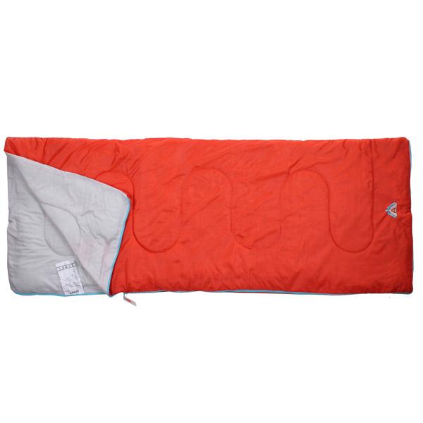 ABBEY CAMP Summer spací pytel deka - červená
