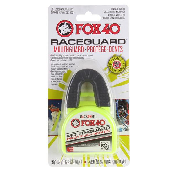 Fox40 Raceguard chránič zubů - senior - černá