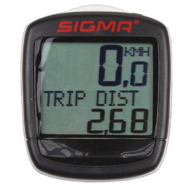 SIGMA Baseline 800 cyklocomputer 8 funkcí