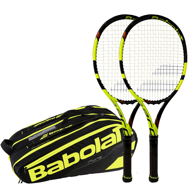 Balíček BABOLAT PURE AERO VS TOUR 2017 (2x PURE AERO VS TOUR 201