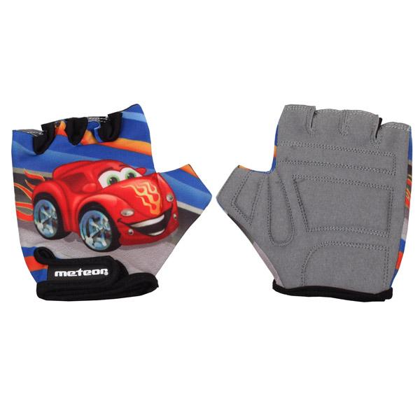 METEOR Kids Auto dětské cyklistické rukavice 6