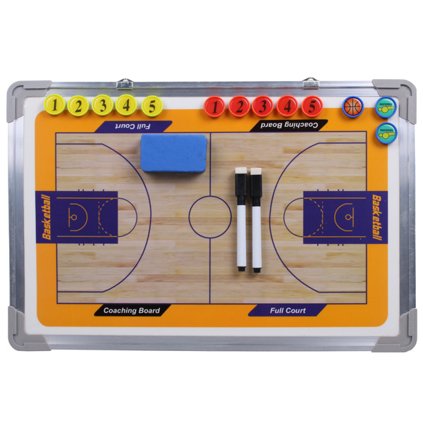 MERCO Basketbal 43 magnetická trenérská tabule, závěsná