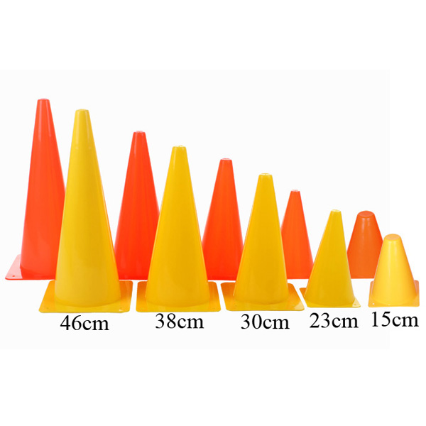 MERCO kužel tréninkový plastový - 38 cm - oranžová
