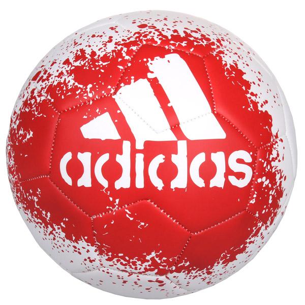 ADIDAS X Glider II fotbalový míč - bílá - červená