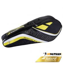 BABOLAT TEAM LINE BADMINTON RACKET HOLDER X4 YELLOW 2016