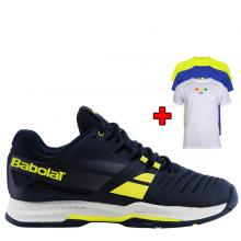 BABOLAT SFX2 ALL COURT BLUE / YELLOW + bonus TRIČKO