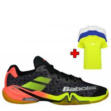 BABOLAT SHADOW TOUR MEN BLACK / RED / YELLOW 2018 + bonus TRIČKO